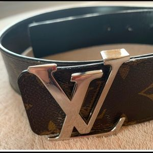 Louis Vuitton Initiales Monogram Reversible Belt